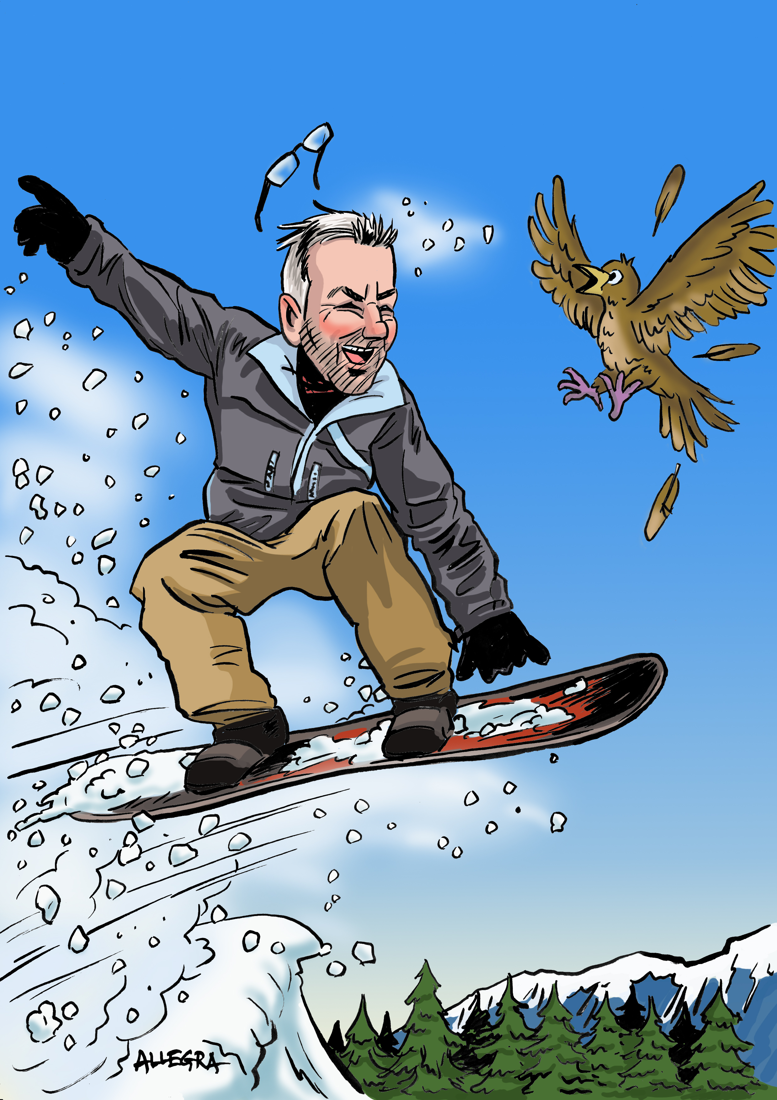 Snowboardy-Pete