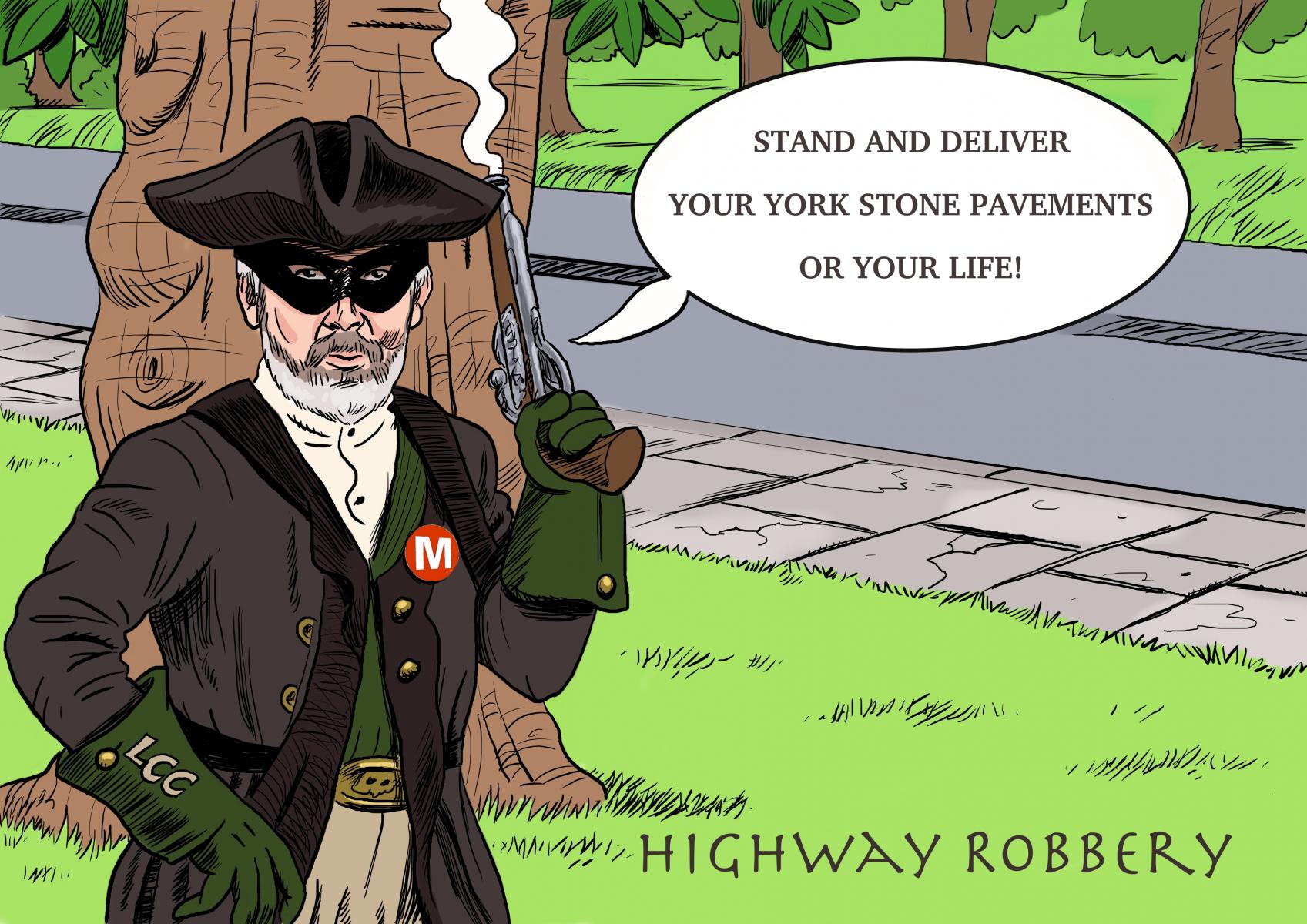 Highwayman-cartoon