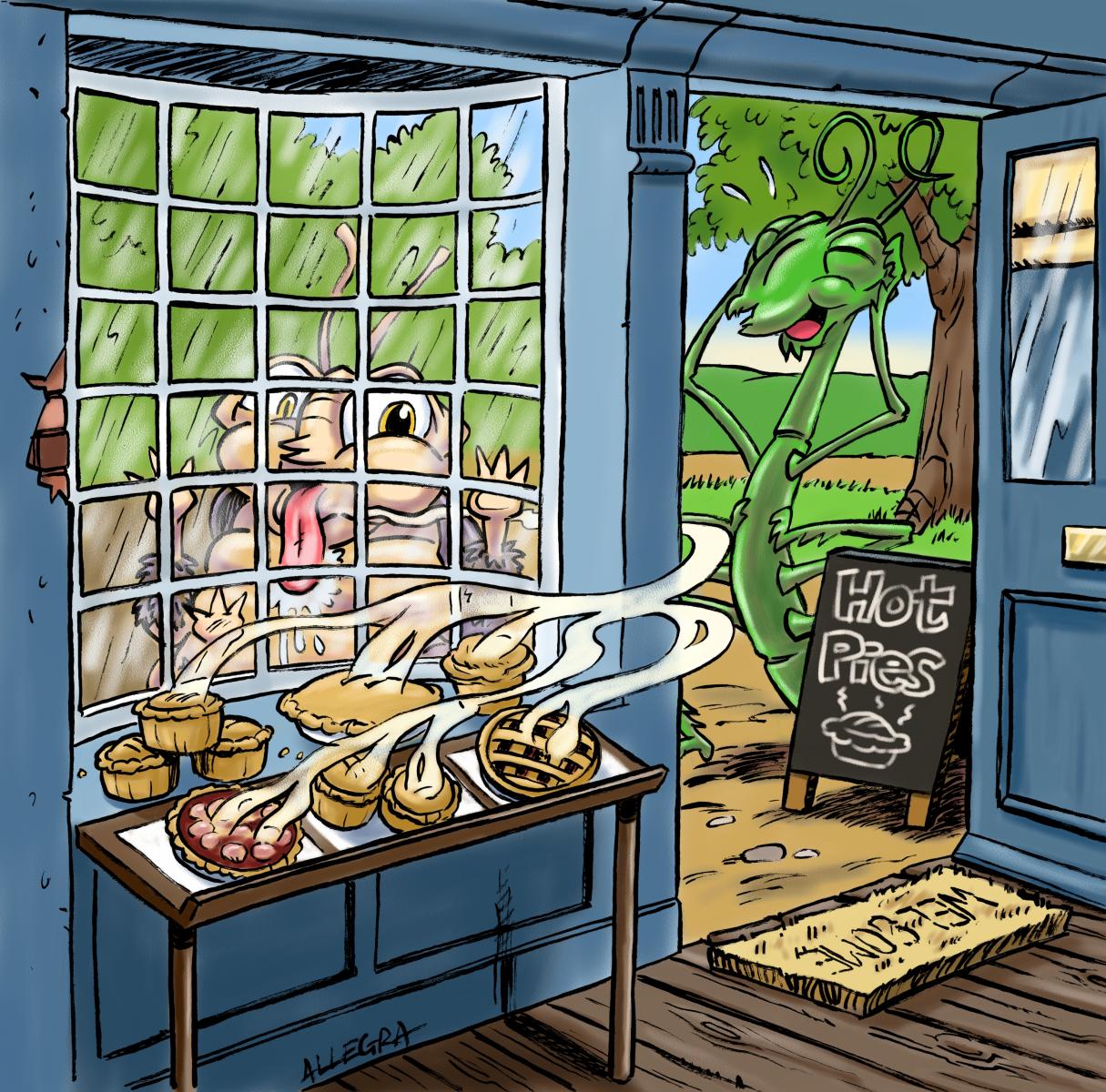 Pie Shop Twee