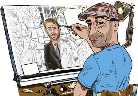 Freelance Cartoonist Manchester
