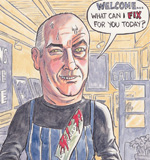 Freelance Cartoonist Manchester